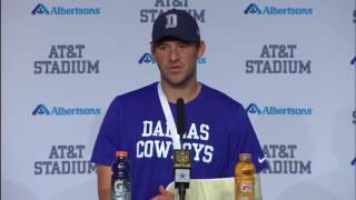 Tony Romo Broke his back (again) in Mike Tyson Voice