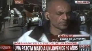 El Menor Adrian Novillo fue a bailar a Space y terminó muerto - Mirada de Quilmes Oeste