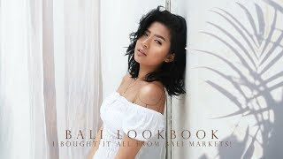 BALI LOOKBOOK 2018 ꕤ I Bought It All from Bali Market !