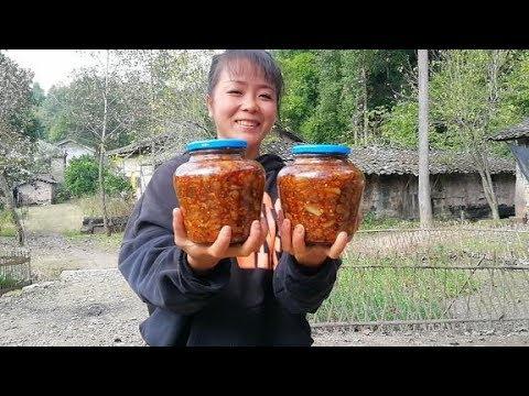 农村媳妇自制洋姜榨菜,甜脆爽口,开胃又下饭,放一年都不坏