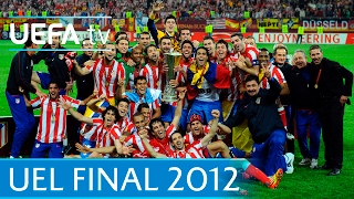 2012 UEFA <b>Europa League</b> final highlights - Atlético-Athletic Bilbao ...