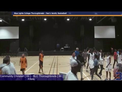 Thoroughbreds vs. Community Christian College - January 8, 2019
