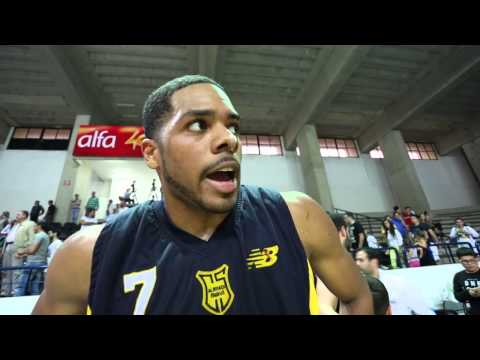 Rodney Carney post game interview Champville vs Riyadi 19-4-2014