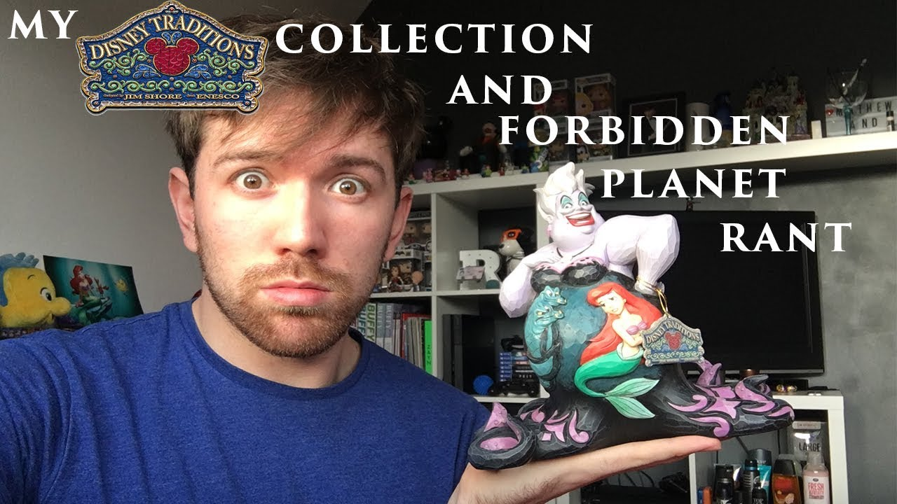 My Disney Traditions Collection and RANT about Forbidden Planet