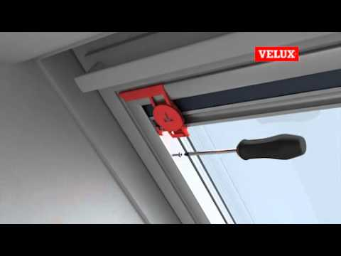velux einbauvideo verdunkelungs rollo youtube. Black Bedroom Furniture Sets. Home Design Ideas