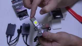 Светодиодные лампы H4 (Ied Cree H4 1800 LM) Видео №38(http://ali.pub/s8wgy., 2014-10-23T20:00:56.000Z)