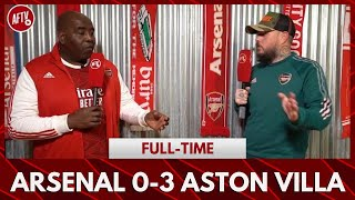 Arsenal 0-3 Aston Villa | I Haven't Been This Embarrassed Since Bayern Away! (DT Rant)