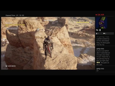 Assasin Creed Origins. It's  hard out here fo' a mejay