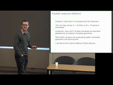Modern developments in General Relativity: Harvey Reall AND Piotr Chrusciel