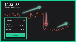 Channel for crazy robinhood trades + wall street betsget a free stock on robinhood: http://join.robinhood.com/hiramj(make brokerage account within seconds, n...