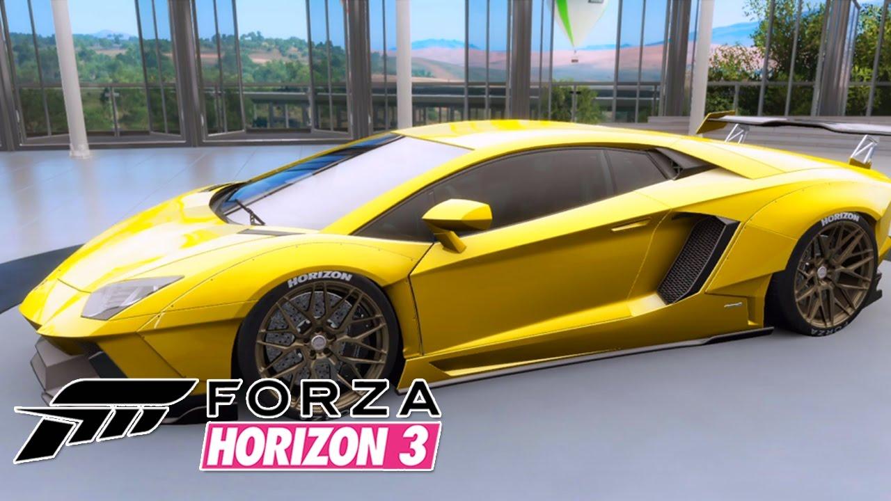 Forza Horizon 3 Lamborghini Aventador Lp700 4 2012 Youtube