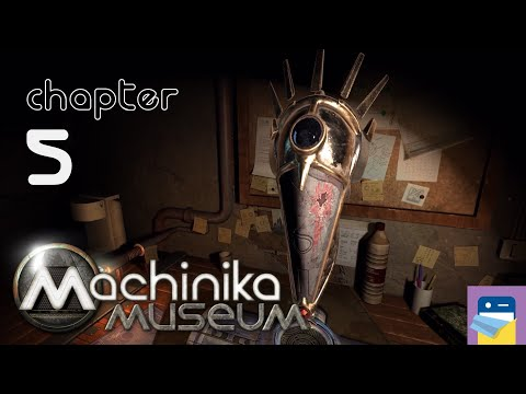 Machinika Museum: Chapter 5 Walkthrough & iOS/Android Gameplay (Plug In Digital/Littlefield Studio)  