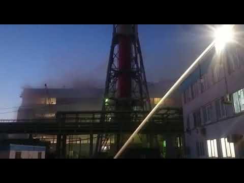 Пожар в г. Невинномысске на азоте
