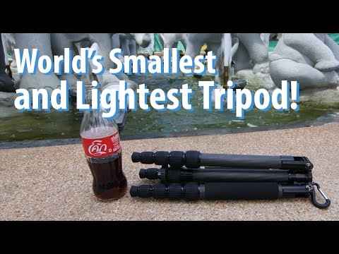 World's Smallest & Lightest Tripod! - Sirui T-025X!