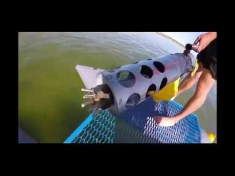Міні земснаряд підводна зйомка