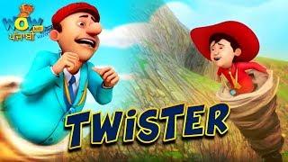 Chacha Bhatija De Dibujos Animados En Punjabi | Twister | Dibujos Animados Para Los Niños | Wow Kidz Punjabi