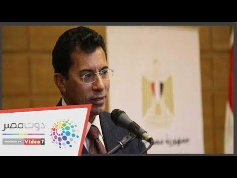 وزير الرياضة يفتتح البطولة العربية للملامكة بالمركز الاوليمبى  - 19:54-2019 / 2 / 11
