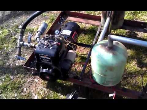 wood gas generator part #4