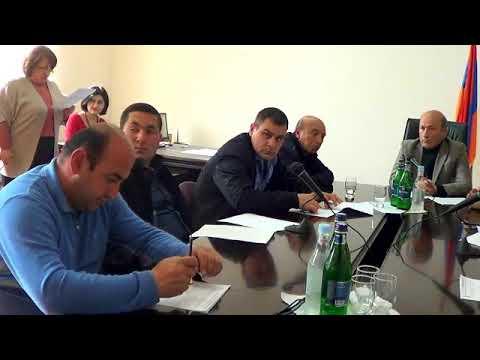 Բյուրեղավան համայնքի ավագանու արտ. նիստ - 13.04.18