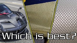 Carbon Fiber vs Kevlar vs Fiberglass - Which one is right for YOU?