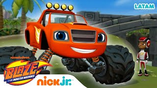 Clase de Física con Blaze - parte 6 | Blaze and the Monster Machines