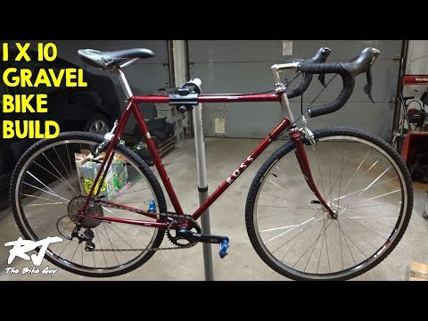 Building 1X Gravel Bike From Road Bike (2X7 to 1X10 Conversion)