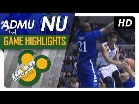 UAAP 80 MEN'S BASKETBALL ROUND 1: NU vs ADMU Game Highlights - September 30, 2017