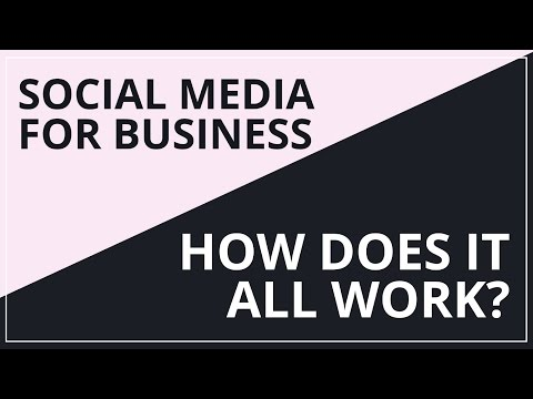 Social Media For Business: How Does It All Work?