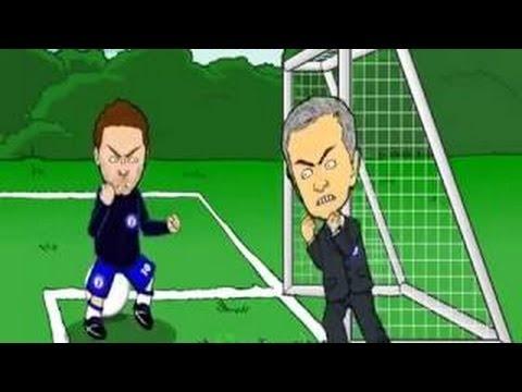 Funny Toon: Juan Mata vs Jose Mourinho - Special One Fuck you