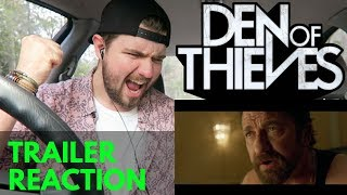 DEN OF THIEVES - TRAILER REACTION
