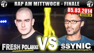 RAP AM MITTWOCH: Fresh Polakke vs Ssynic 05.03.14 BattleMania Finale (4/4) GERMAN BATTLE
