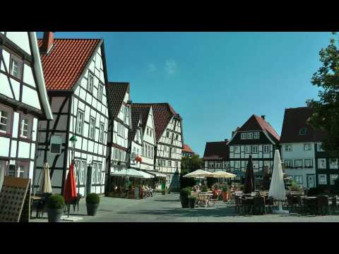 GERMANY Soest, North Rhine Westphalia (hd-video).