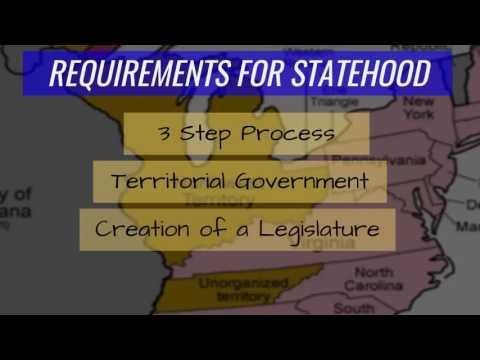 Expansion  Northwest Ordinance  Slide 05 Requirements for Statehood  Northwest Ordinance