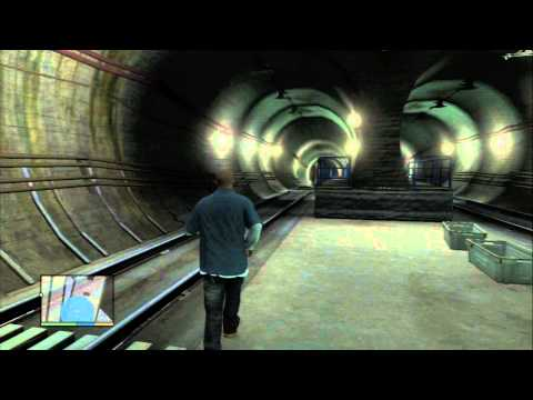 Grand Theft Auto V - Spaceship Parts Locations / Collectibles: #29 Underground Subway PS3