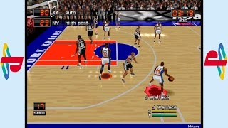PS1 - NBA in the Zone 2000 Gameplay