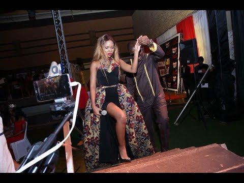 Mafia Fik Fameica and sheilah C Gashumba put up a great show at the 2018 zzinaAwards