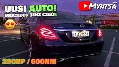🤩UUSI AUTO😍 (Mercedes Benz C350e)