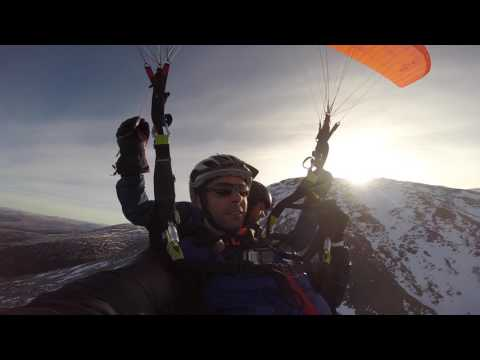 Ben Nevis by Paraglider
