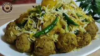 Kofta dum biryani by Cooking with Asifa