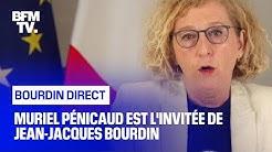 Muriel Pénicaud face à Jean-Jacques Bourdin en direct
