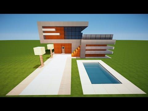 Minecraft Modernes Haus Tagged Videos Midnight News - Minecraft modernes haus bauen tutorial deutsch