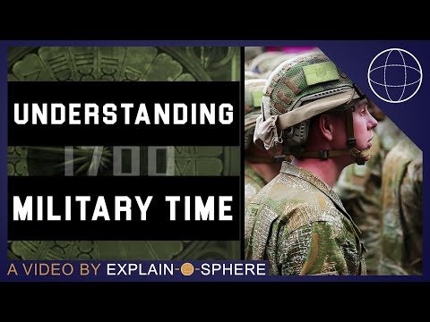 Military Time: How To Tell Time In A 24 Hour Clock
