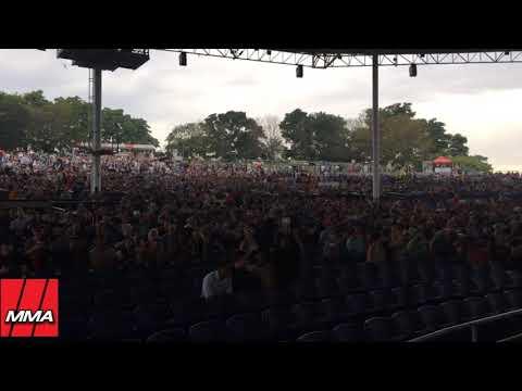 Floyd  Mayweather vs Conor McGregor World Tour Toronto