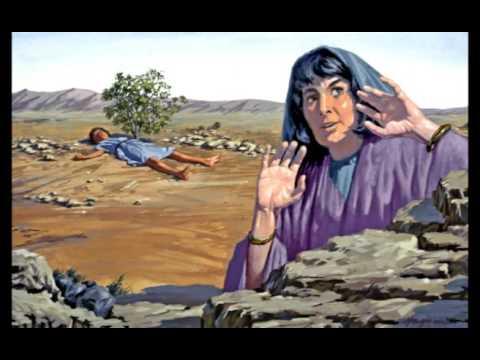 Resultado de imagem para Agar e Ismael no deserto
