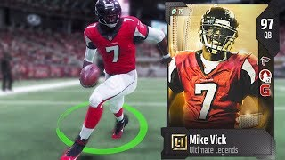 MIKE VICK ULTIMATE LEGEND IS A CHEAT CODE! MADDEN 18 ULTIMATE TEAM