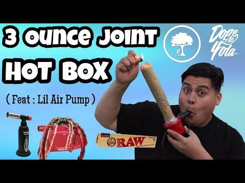 3 OUNCE JOINT CAR HOT BOX ..... THROUGH AN AIR PUMP