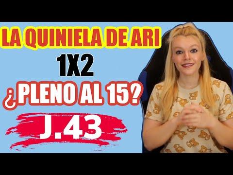 ⇶Pronóstico de la Quiniela de Ari Jornada 43 💁 Arice Fútbol Tv