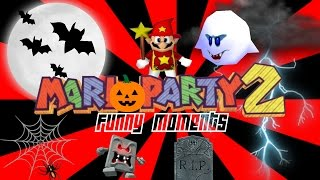 Mario Party 2 Funny Moments 5 - Team Work, Brendan
