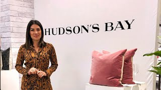 You won't believe what the Hudson's Bay has for fall!