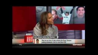 Lolo Jones talks about getting old